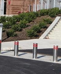 升降柱在车辆进出管理系统中的应用!